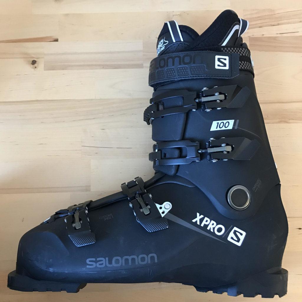 Skischuh in Übergröße: Salomon XPRO S in 32/32,5